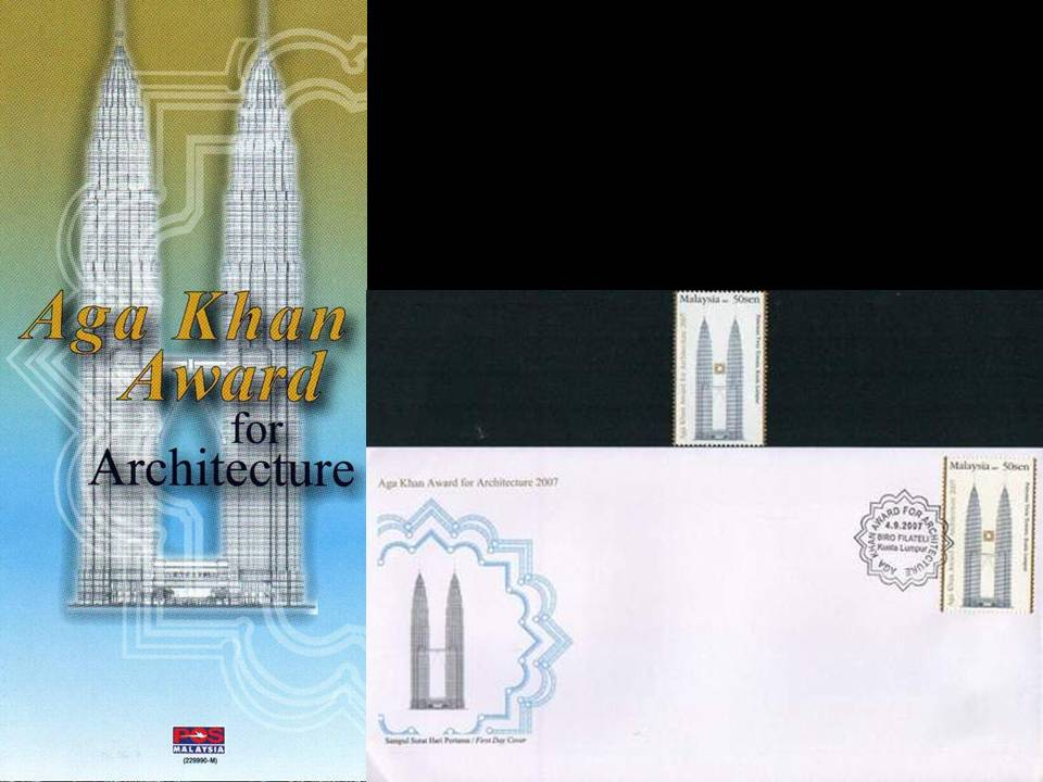 Malaysia Fdc 2007 Brochure Stamp Aga Khan Award For Architecture