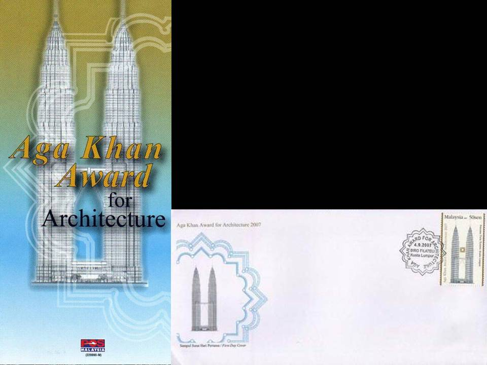 Malaysia Fdc 2007 & Brochure Aga Khan Award For Architecture