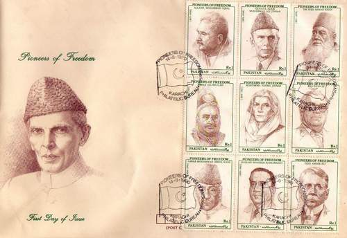 Pakistan Fdc 1990 Pioneer Of Freedom Aga Khan