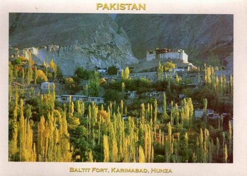 Pakistan Beautiful Postcard Baltit Fort Aga Khan Heritage 11