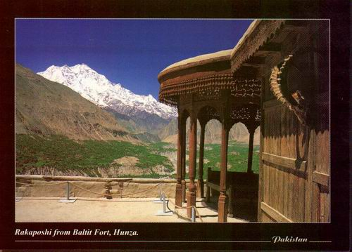 Pakistan Beautiful Postcard Baltit Fort Aga Khan Heritage 09