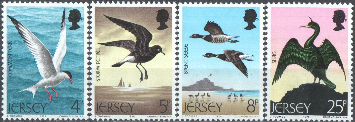 Jersey 1984 Stamps Birds MNH