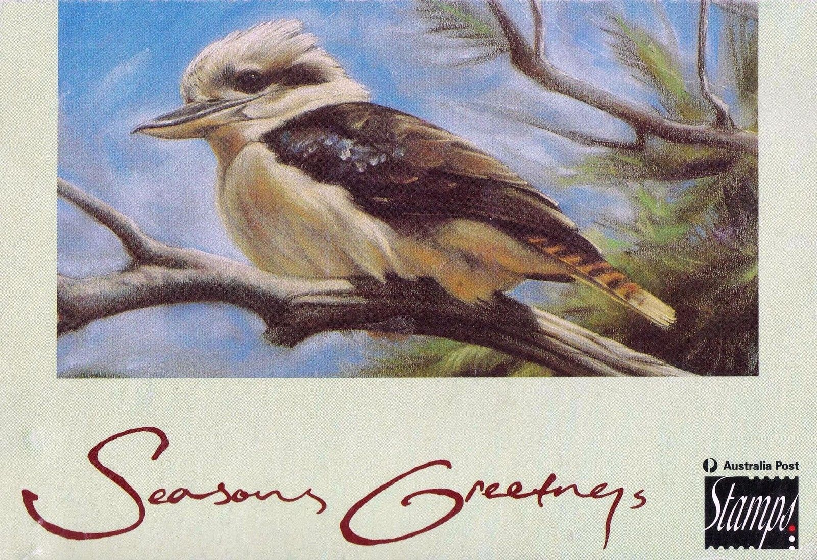 Australia Post 1993 Seasons Greetings 70c Birds Stamp