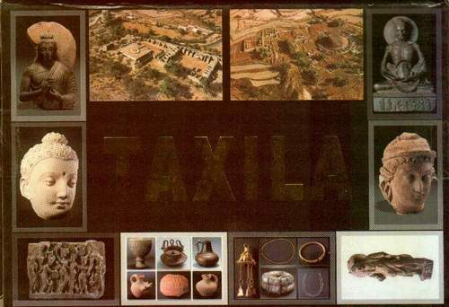 Pakistan Beautiful Postcard Set Of 10 Taxila Buddha