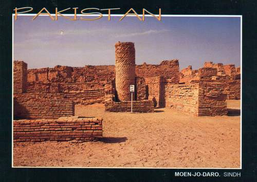 Pakistan Postcard Moenjodaro Old Civilization