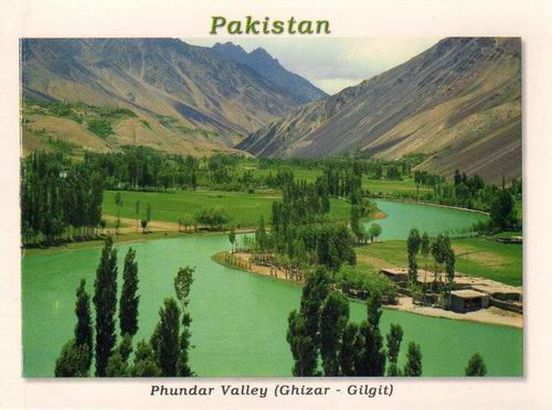 Pakistan Beautiful Postcard Phundar Valley