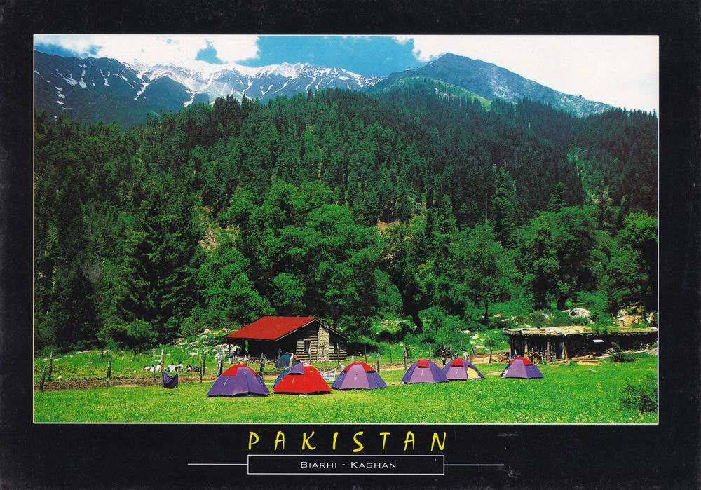 Pakistan Beautiful Postcard Biahri Kaghan Valley