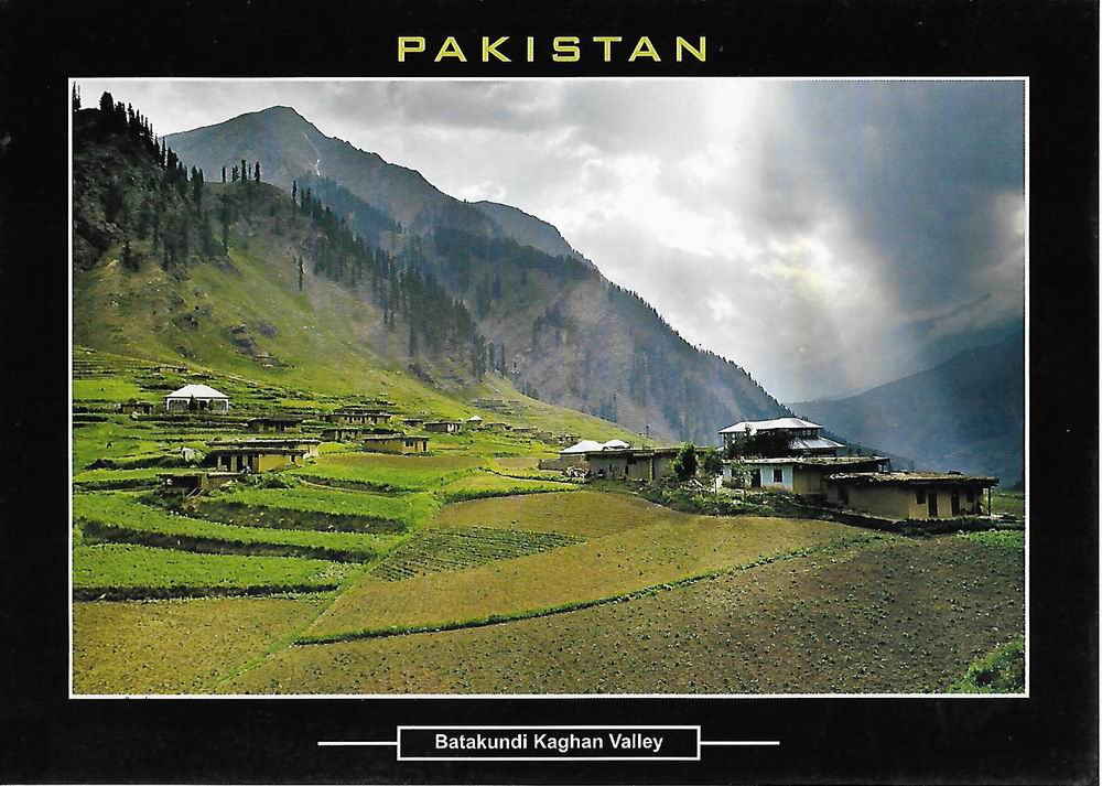 Pakistan Beautiful Postcard Batakundi Kaghan Valley