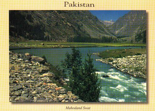 Pakistan Beautiful Postcard Mahudand Lake Swat