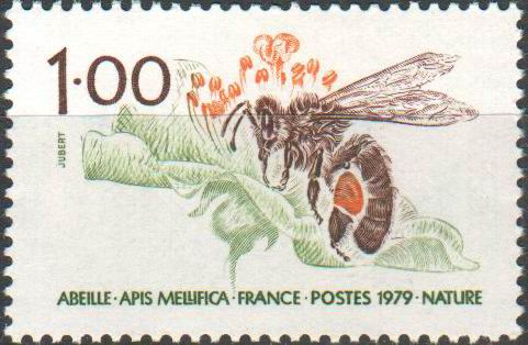 France 1979 Stamps Honeybees
