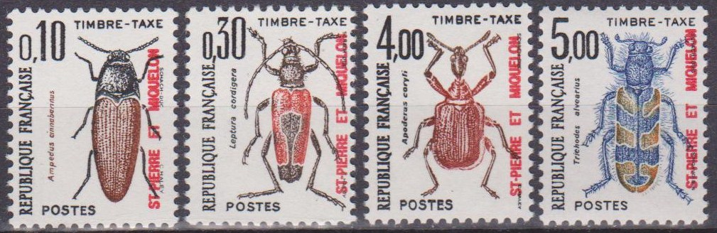France 1982 Stamps Insects MNH