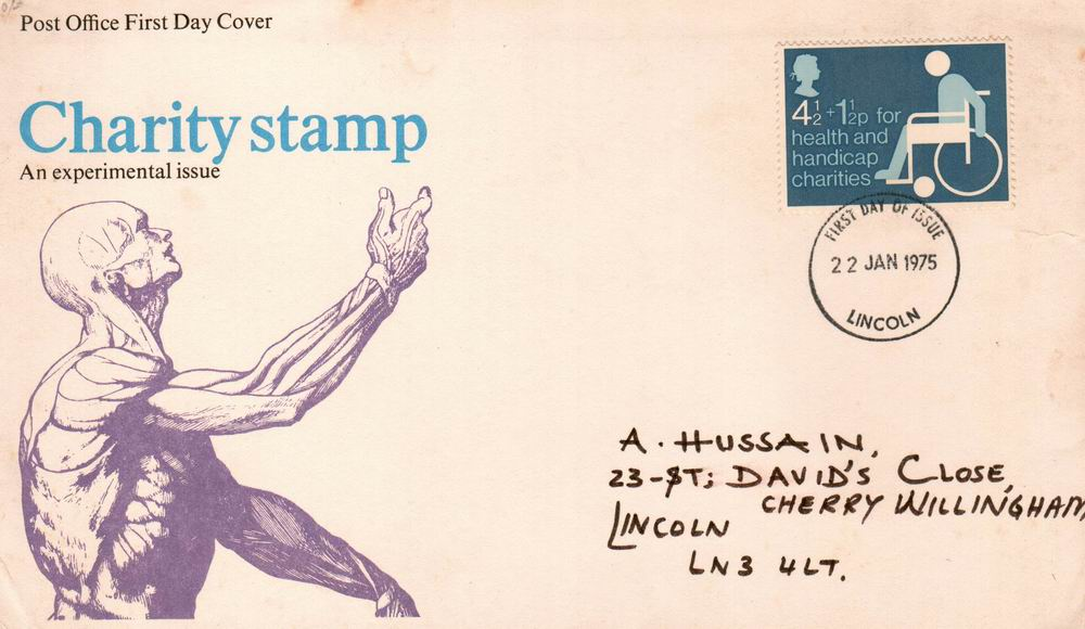 Great Britain Fdc 1975 Caring For The Handicapped