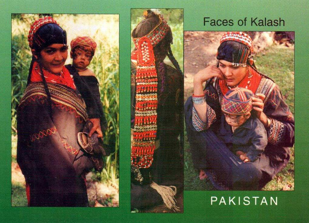 Pakistan Beautiful Postcard Faces Of Kailash Near Swat