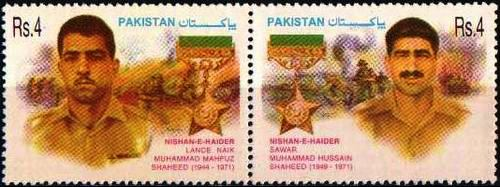 Pakistan Stamps 2002 Nishan-e-Haider Series