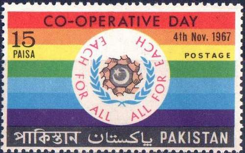 Pakistan Stamps 1967 Co Operative Day