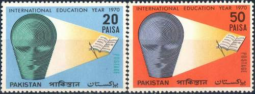 Pakistan Stamps 1970 International Education Year