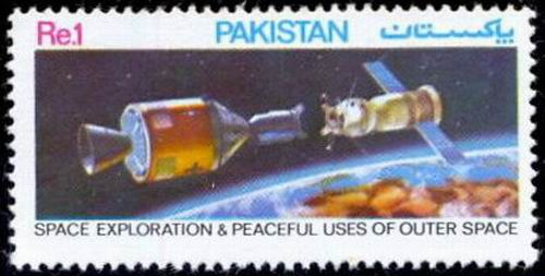 Pakistan Stamps 1982 Space Exploration