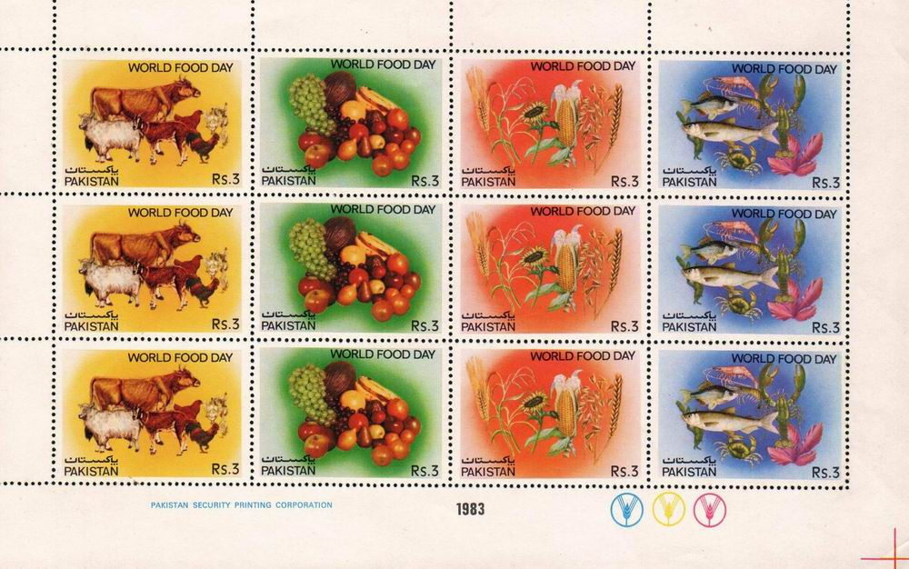 Pakistan Stamps 1983 World Food Day