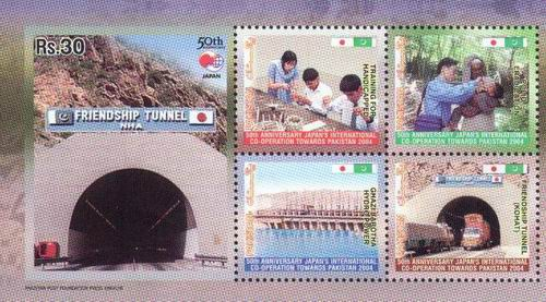 Pakistan 2004 Souvenir Sheet Pak Japan Polio Handicapped