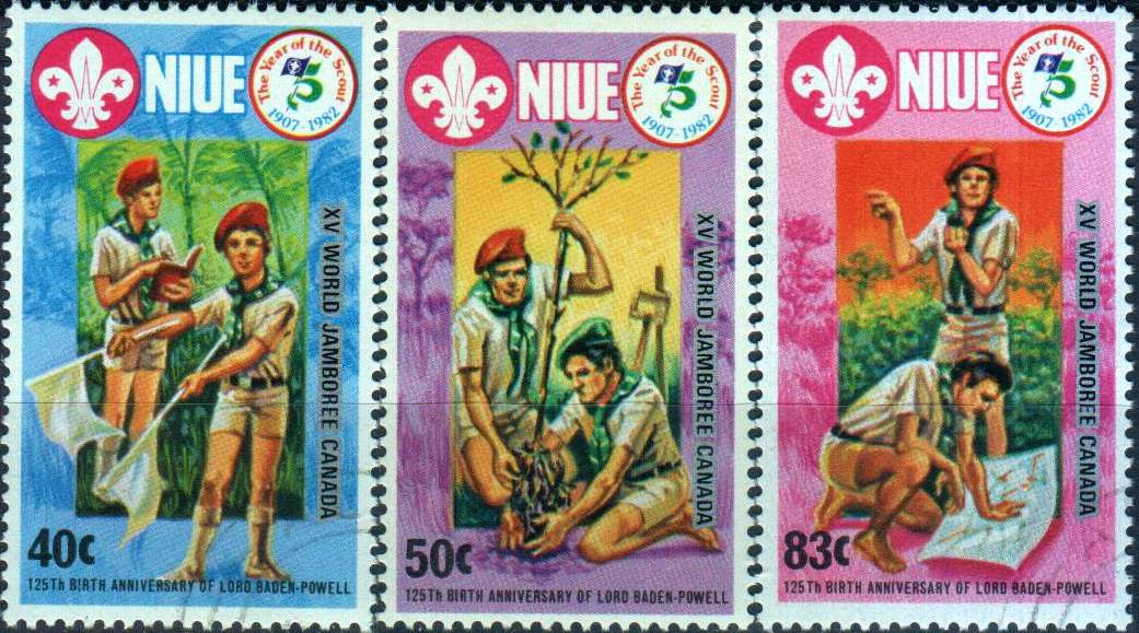 Niue 1983 World Scout Jamboree MNH
