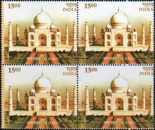 India 2004 Stamps Taj Mahal 7th Wonder Of The World