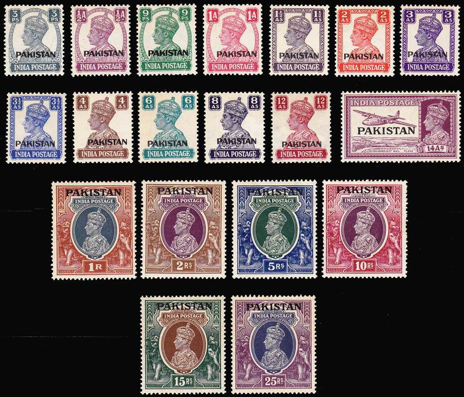 Pakistan Stamps 1947 -2020 Complete Collection MNH