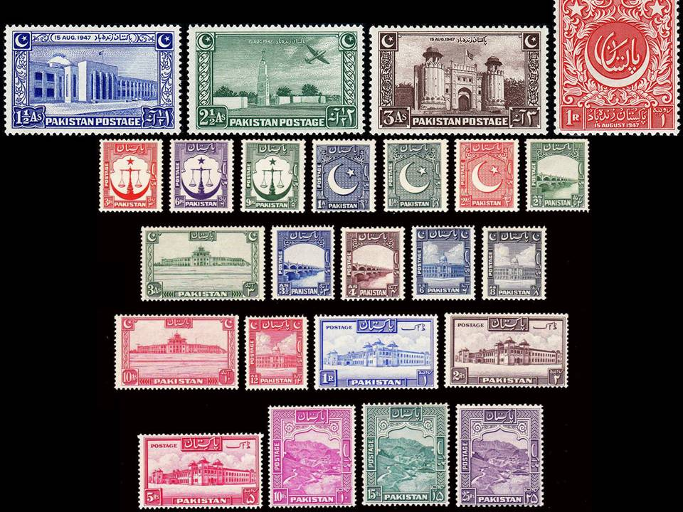 Pakistan Stamps 1948 Complete Year Pack Independence Day