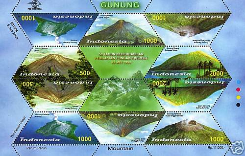 Mountain Stamps