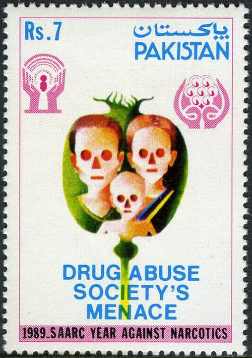 Fight Against Drugs Stamps