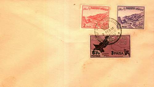 Pakistani Fdcs Spl Cancellation
