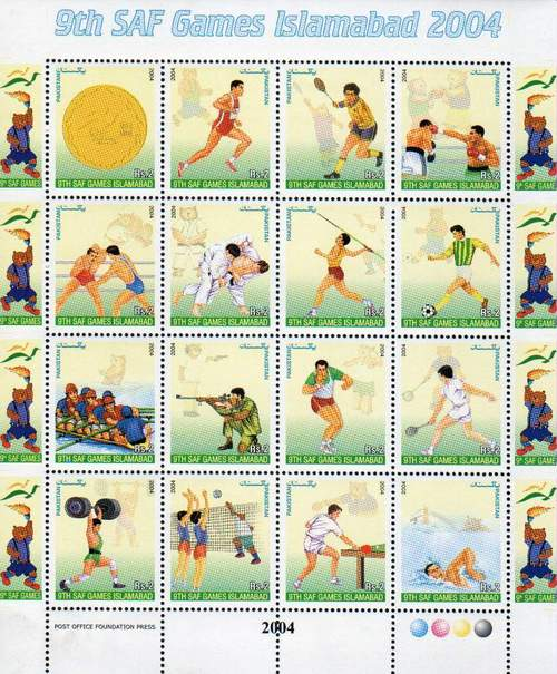 Sports Souvenir Sheets & Stamps