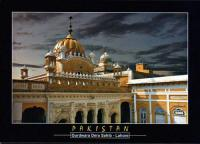 Pakistan Beautiful Postcard Sikh Gurdwara Dera Sahib