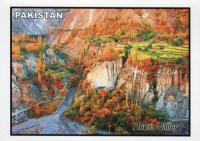 Pakistan Beautiful Postcard Hunza Valley