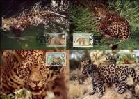 WWF Belize 1983 Beautiful Maxi Cards Jaguar