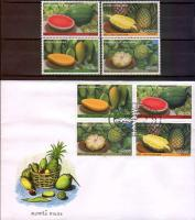 Laos 2003 Fdc & Stamps Fruits