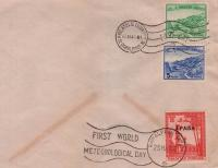 Pakistan Fdc 1961 Worlds First Meteorological Day