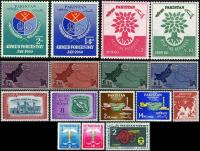 Pakistan Stamps 1960 Year Pack Scout Medical Refugees