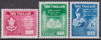 Thalland 1961 Stamps 50th Anniversary of Thai Boy Scouts MNH