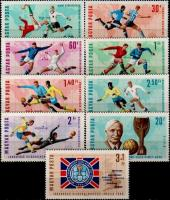 Hungary 1966 Stamps World Cup Football Championships