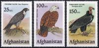 Afghanistan 1965 Stamps Unissued Birds Of Prey MNH