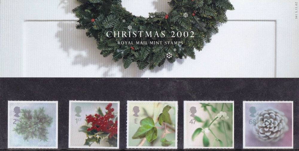 Great Britain 2002 Stamps Christmas 2002 Presentation Pack MNH